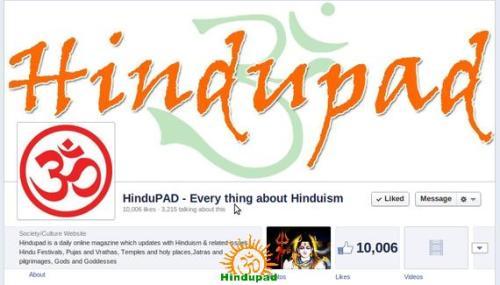 Hindupad FB 10K Likes