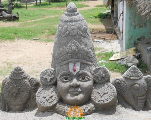 Balaji Stone powder sculpture Fly Ash