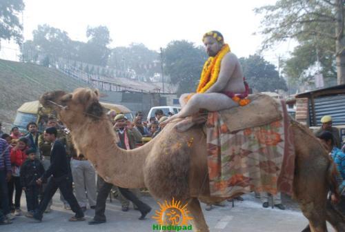 Kumbh Mela – Allahabad: Panchayati Akhadaa Shree Niranjani 13