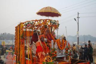 Kumbh Mela - Allahabad: Panchayati Akhadaa Shree Niranjani 5
