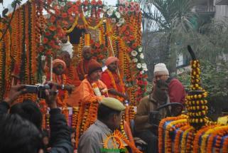 Kumbh Mela - Allahabad: Panchayati Akhadaa Shree Niranjani 6