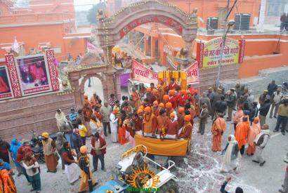 Kumbh Mela - Allahabad: Panchayati Akhadaa Shree Niranjani 8