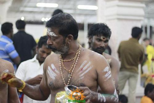 Vibhuti Dharana Applying Holy Ash in Hinduism