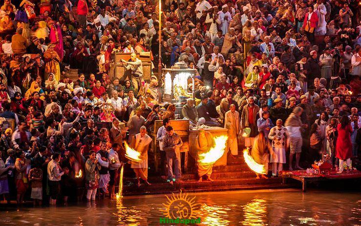 Ganga Aarti at Kumbh Mela 2013