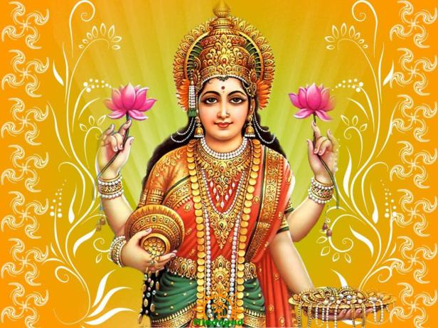 Mata Lakshmi Wallpaper