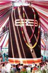 31 feet Rudraksha Shivaling Gujarat