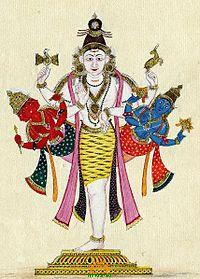 Ekapada Trimurthi