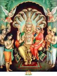 Narasimha Swamy in Puranas, Vedas