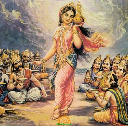 mohini avatar of Lord Vishnu