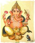Ganesha Mooshika Ganpathi Mouse vehicle