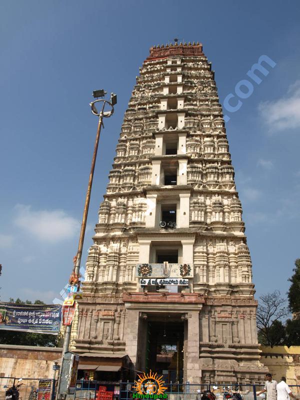 Mangalagiri Temple Rajagopuram, Gali gopuram