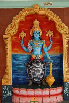 kurmavatara of Lord Vishnu Tortoise incarnation