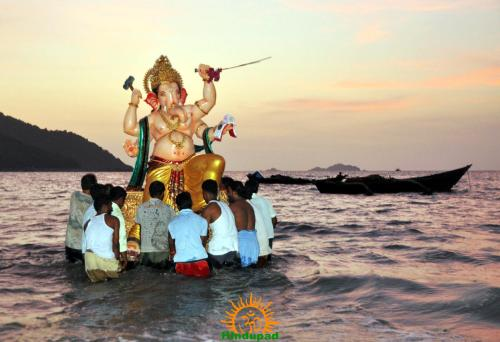 Ganesh immersion