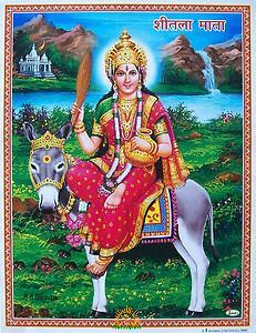 Goddess Shitala Mata