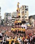 Sanjay Nirupam Dahi Handi celebrations