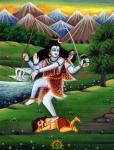 Shiva as Ugra Raudra Samhara murthi