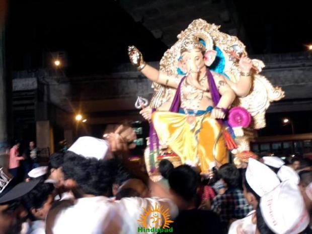 Andhericha Raja 2013 Ganesh idol