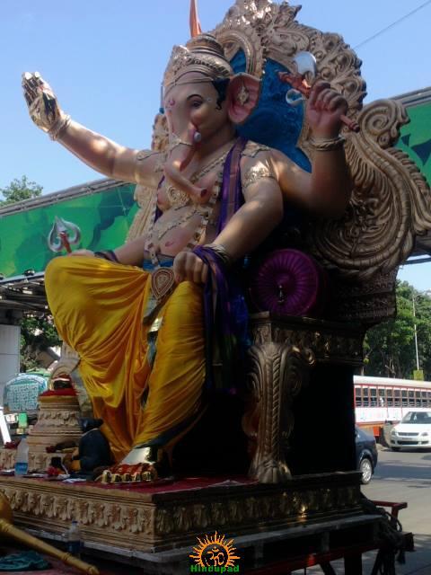 Andhericha Raja Ganpati 2013 in Mumbai