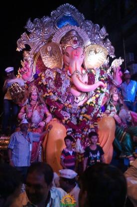 Bhuleshwar cha Raja Ganpati 2013 girgoan
