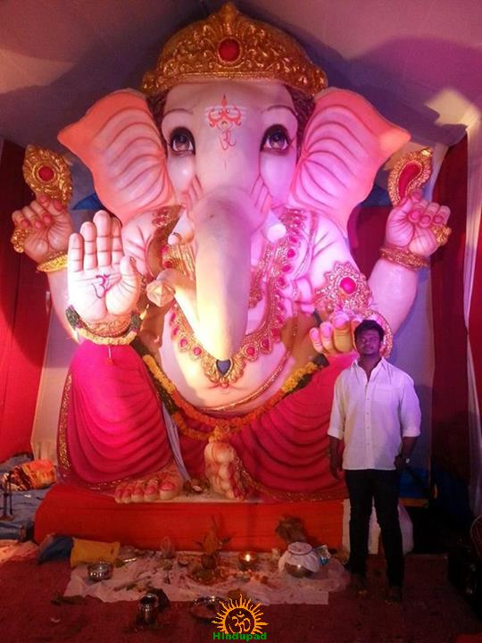 Chandrayangutta Ganesh Utsava Samithi Ganapathi