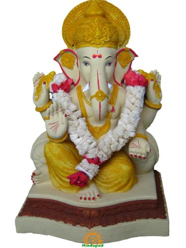 Eco-friendly Ganapati Bappa