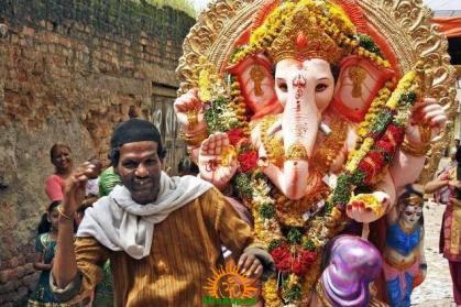 Ganesh Utsav by Muslims in Hyderabad
