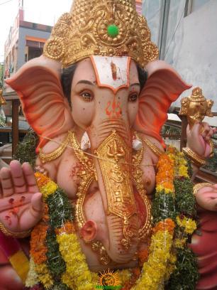 Ganesh immersion in Hyderabad 13