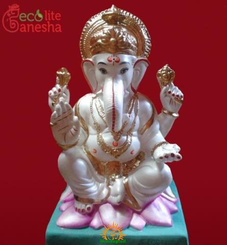 Nirmaljyot Charitable Trust's Eco-friendly Shadu Ganesha Murti