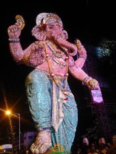 Tulsiwadicha Maharaja Ganesh 2013