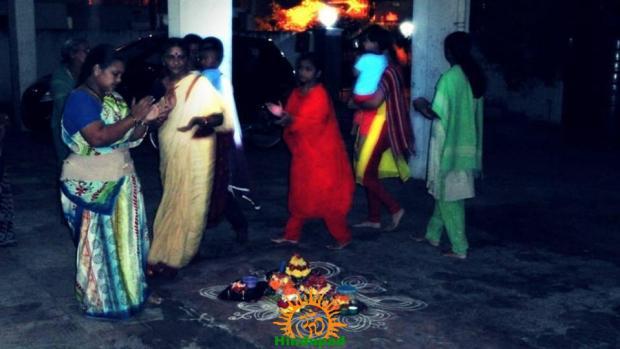 Bathukamma in Hyderabad