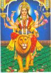 Goddess Durga's vehicle