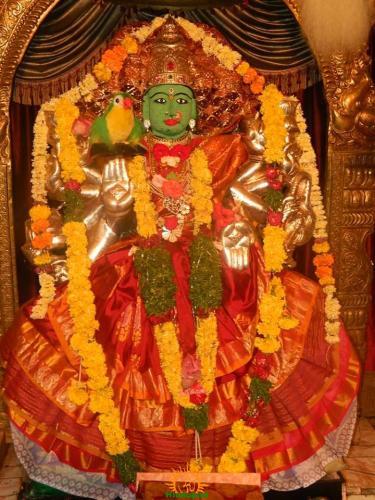 Kameshwari Devi Alankaram 2