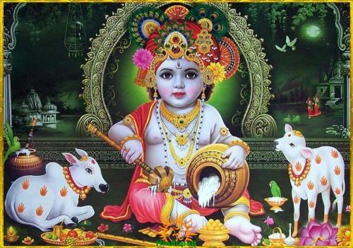 Krishna as Damodara