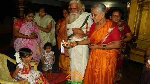 Kumari Puja during Navaratri