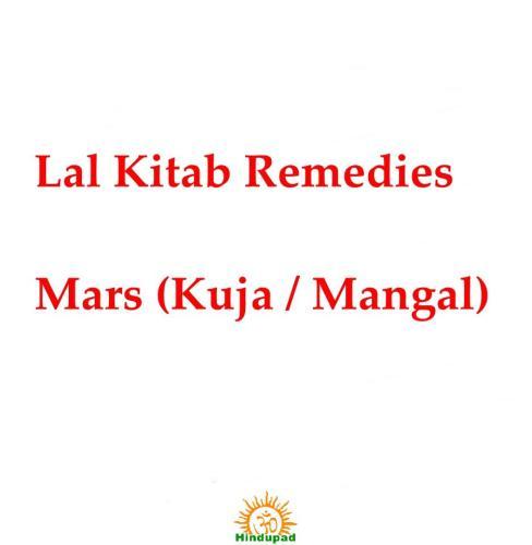 Lalkitab Remedies for Mars