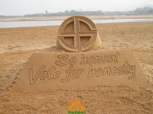 vote-for-india-sand-sculpture