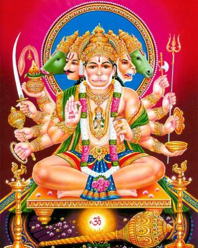 Navavatara Hanuman