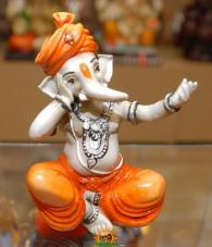 Lord Ganesha as Singer