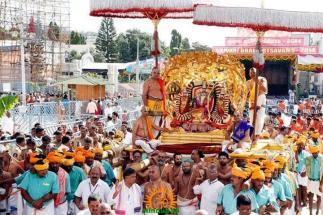 10 Kalpavriksha Vahana Seva TTD Brahmotsavam