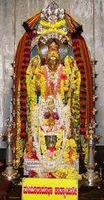 6th day Katyayani Navaratri Horanadu Temple no-watermark