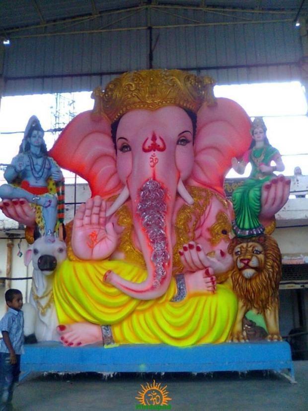 Balapur Ganesh 2014 image