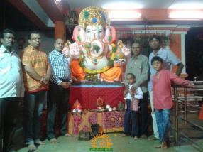 Bharat Navayug Samaj 49th Ganesh Chavithi Celebrations Noor Khan Bazar 1