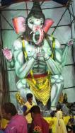 Ganesh Mandap in Hyderabad