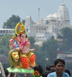 Ganesh Nimajjanam in Hyderabad 3