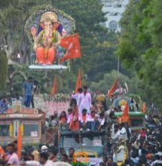 Ganesh Nimajjanam in Hyderabad 9