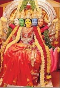 Peddamma Thalli as Gayatri Devi