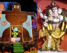 Shiva Ganesh Youth Association Ganesh at Bairamalguda , L.B.Nagar