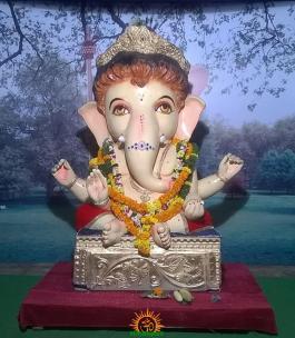 Sree kanyakaparameshwari temple Ganesh,Ashok road,Adilabad