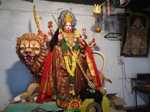 2 Mahishasura mardini Alankaram at Indraprastha Colony Temple