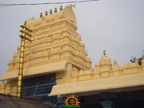 Dhwajasthambha at a Temple